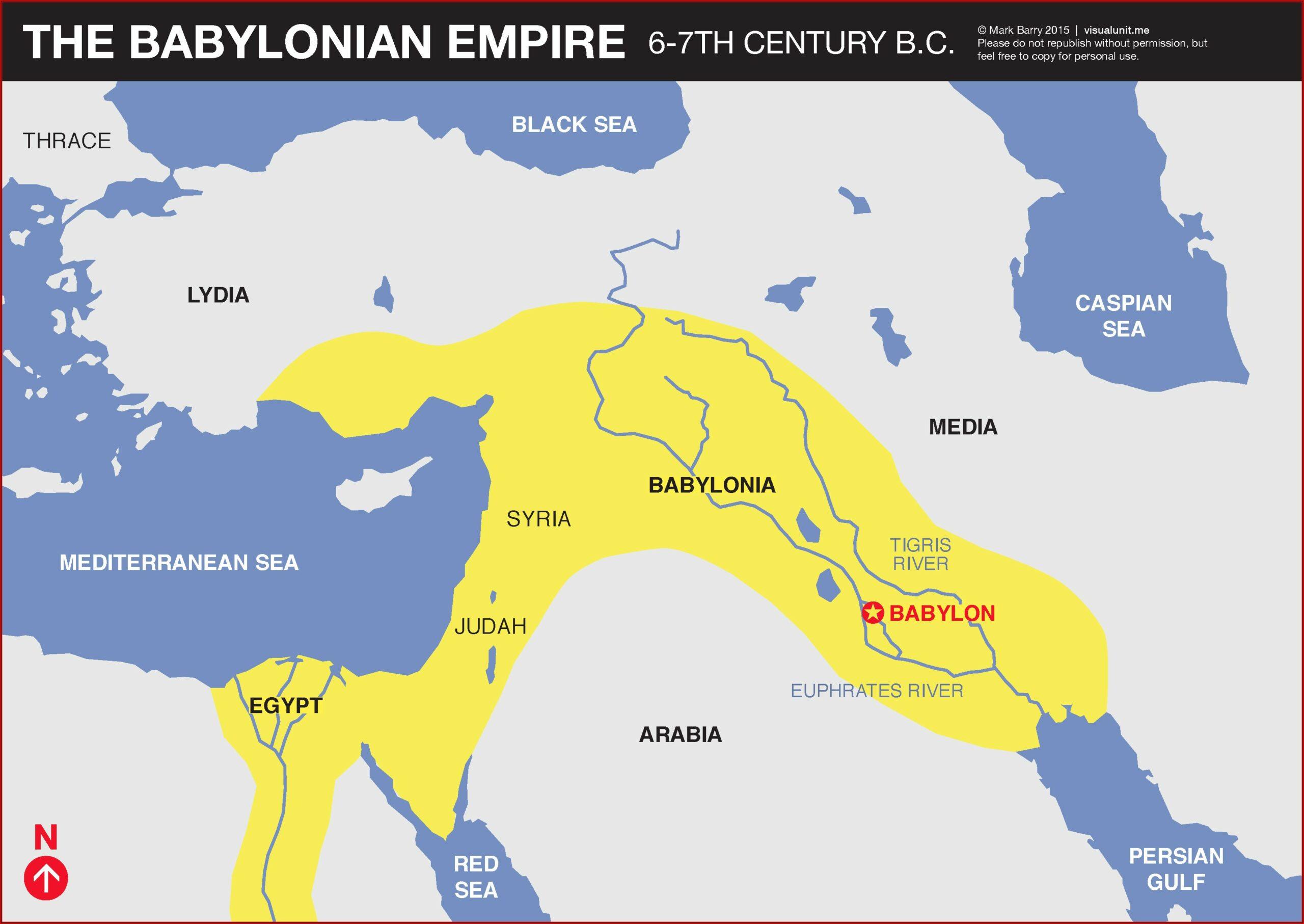 Babylonian Empire Timeline Bible