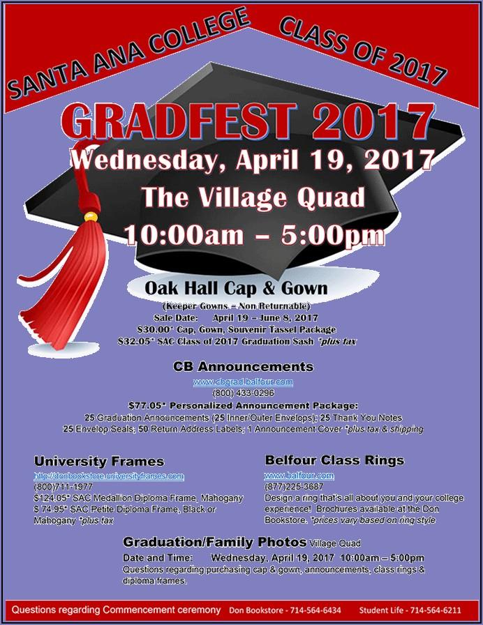 Balfour College Graduation Announcements