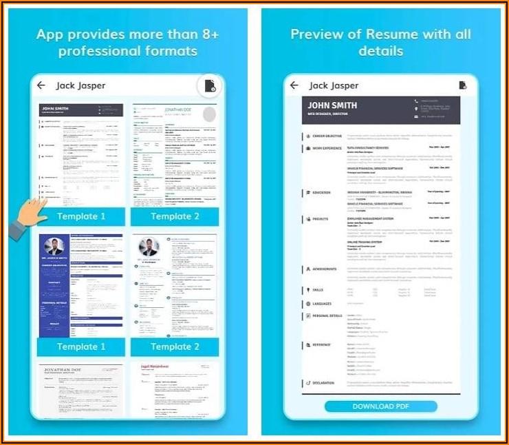 Best Free Resume Building App