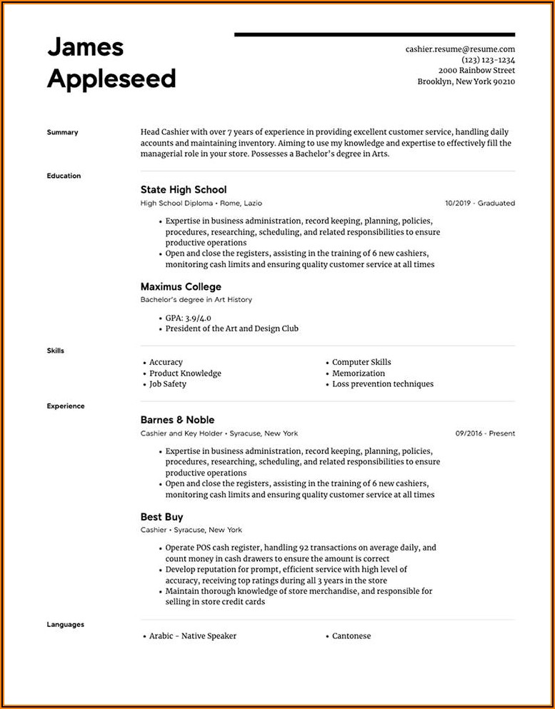 Best Totally Free Resume Builder