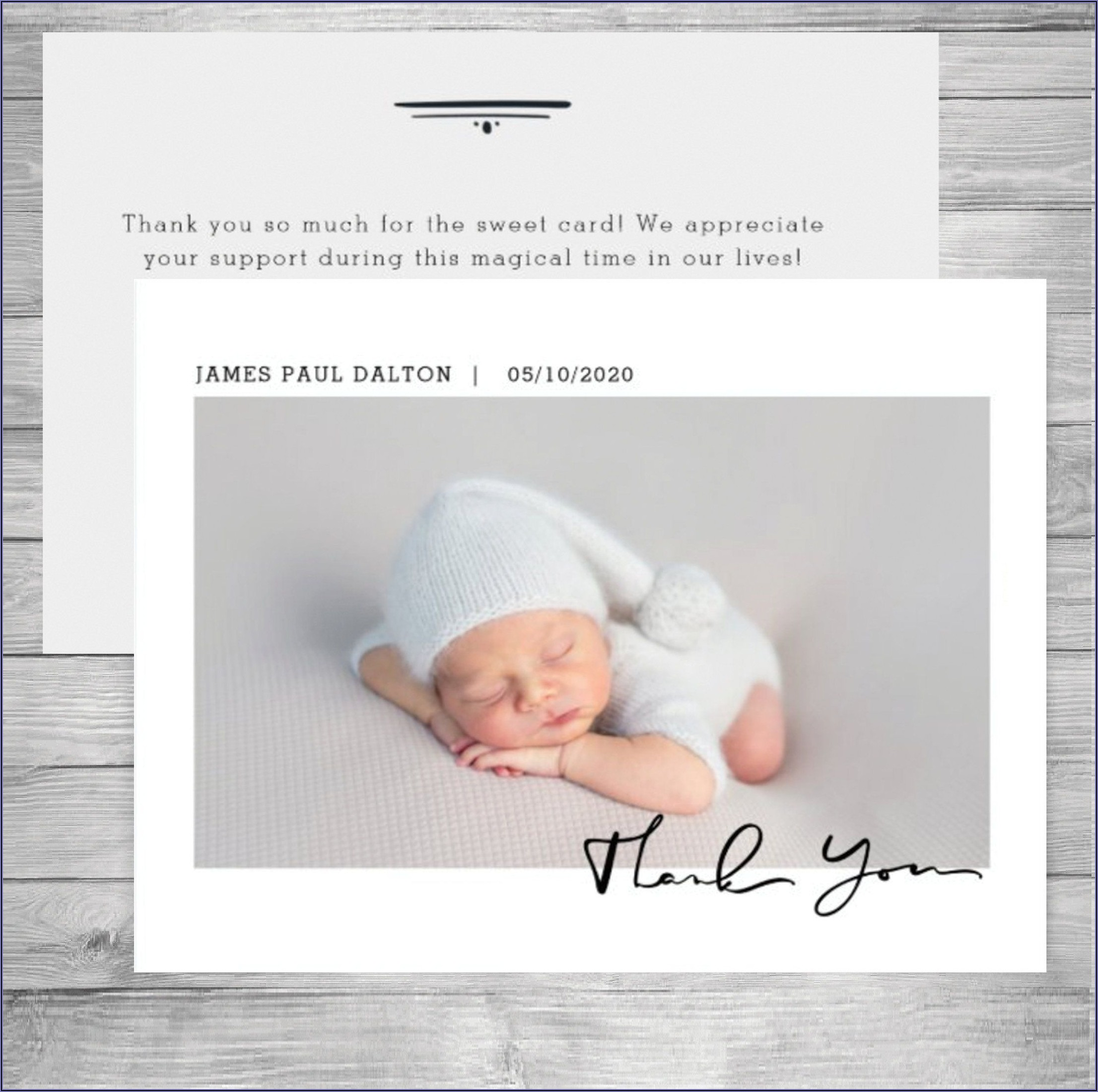 Birth Announcement Cards Etsy