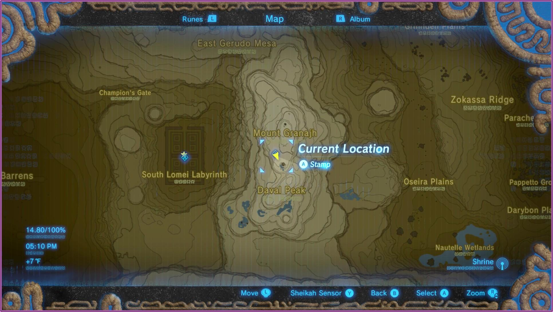 Botw Shrine Locations Gerudo