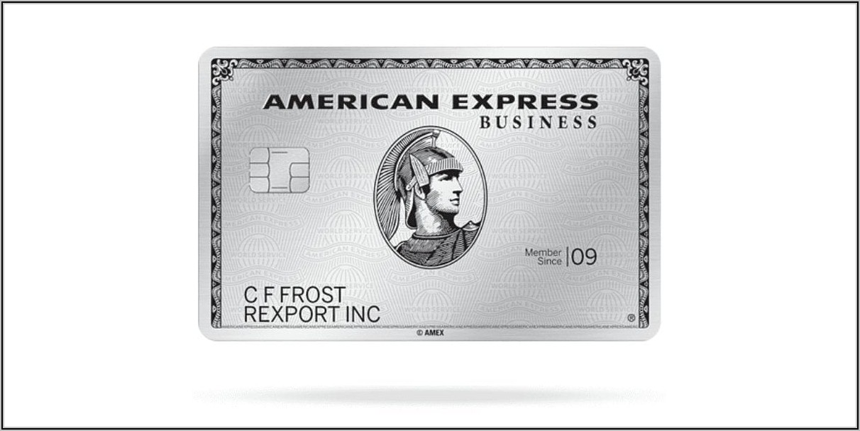 Business Platinum Card From American Express Benefits