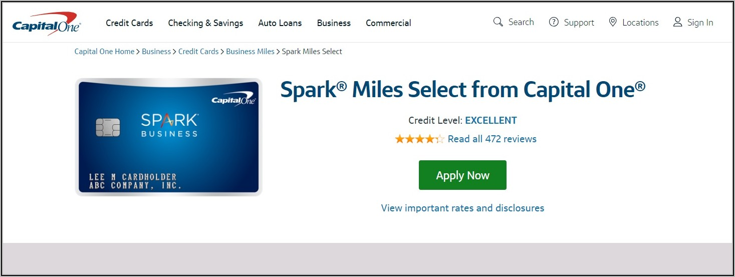 Capital One Business Card Offers