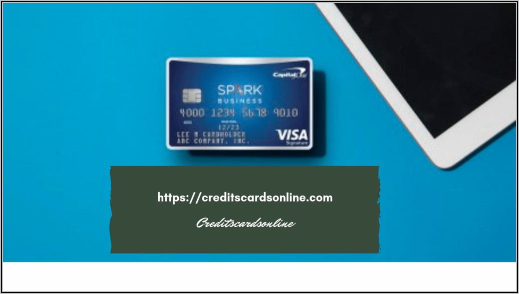Capital One Spark Business Card Customer Service Phone Number
