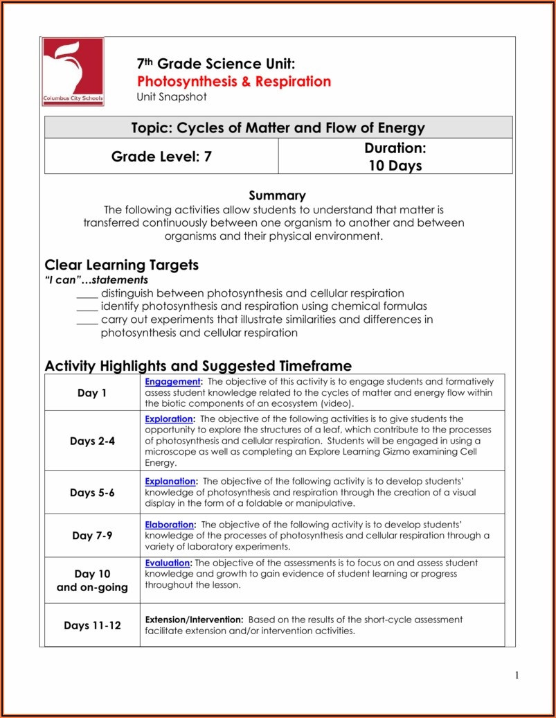 Carbon Cycle Gizmo Worksheet Answers