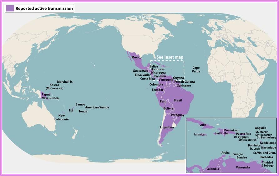 Cdc Zika Map 2019 Mexico