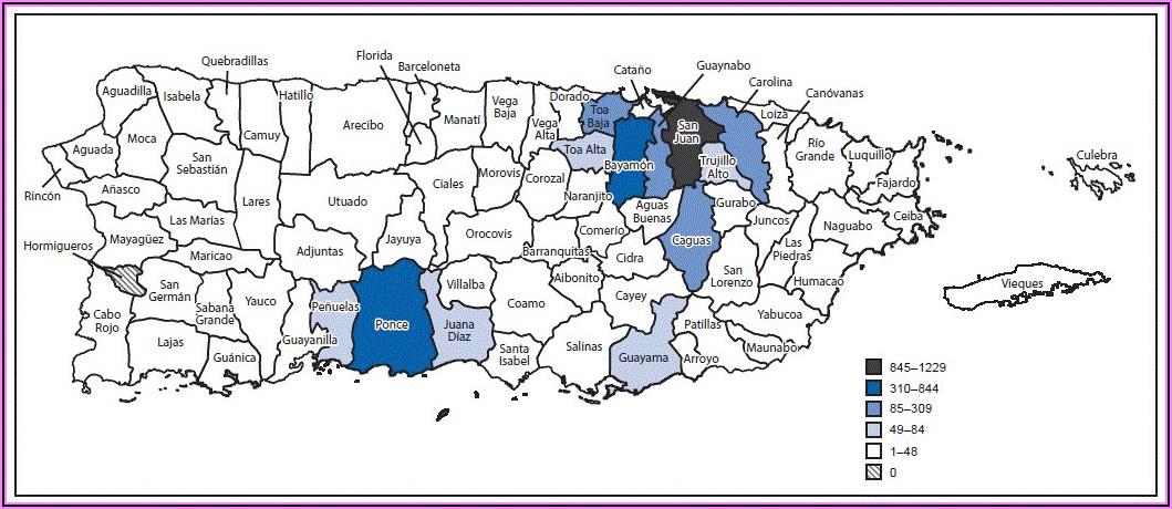 Cdc Zika Virus Map