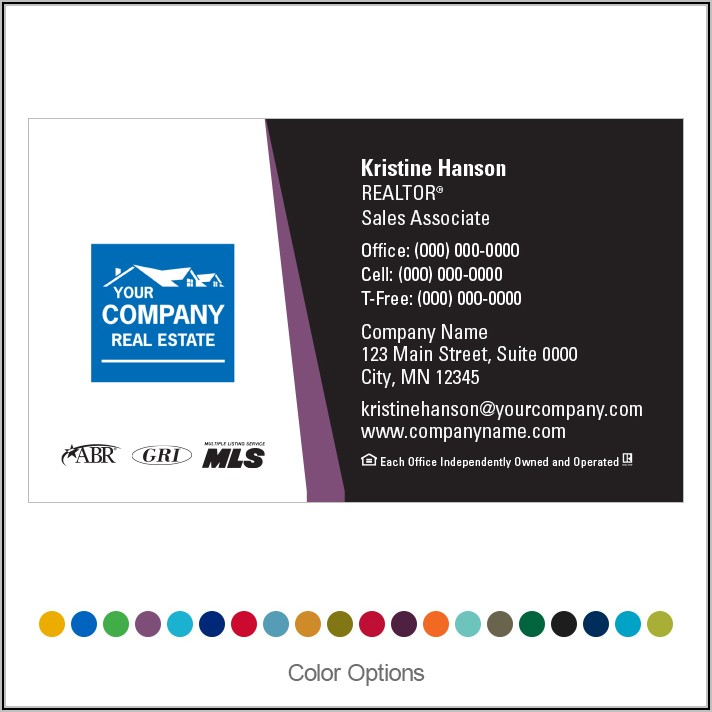 Century 21 Business Cards Merrill