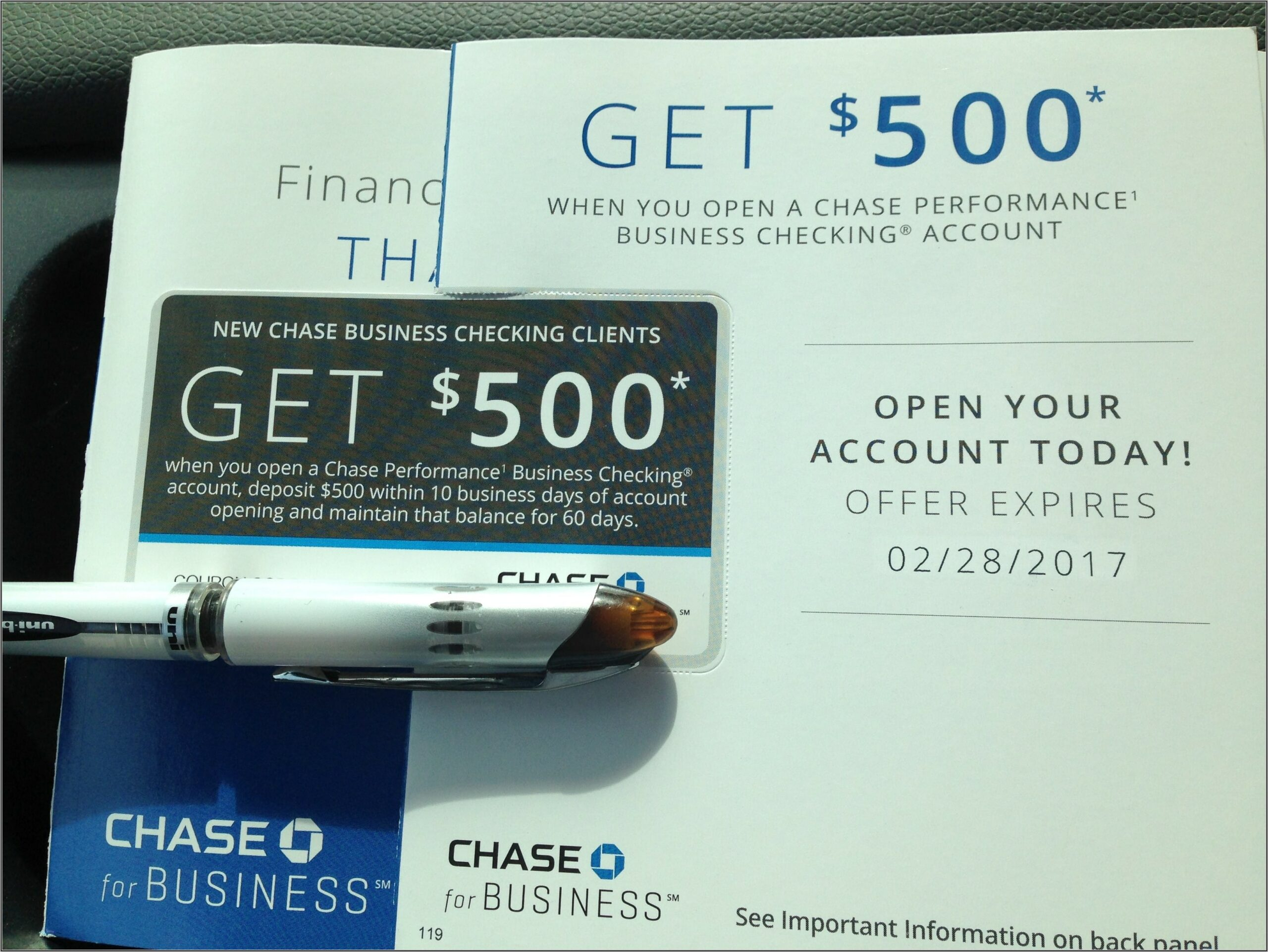 Chase Business Checking Card