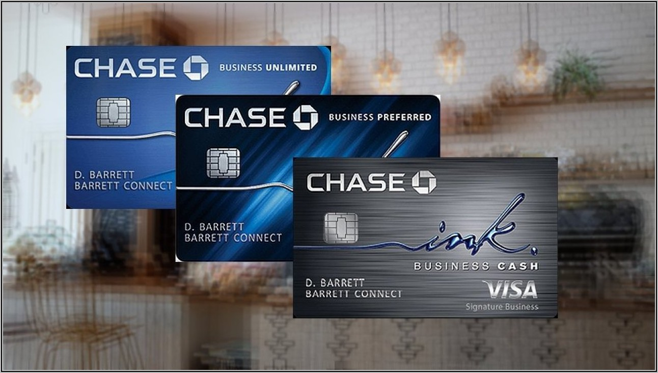 Chase Business Checking Credit Card