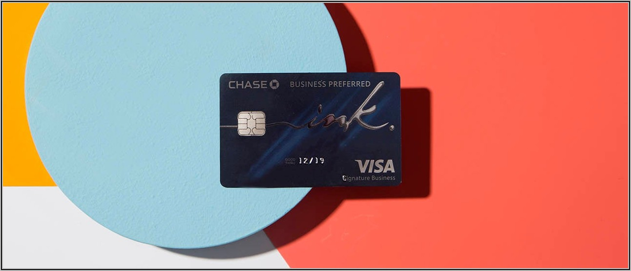 Chase Ink Business Card Requirements