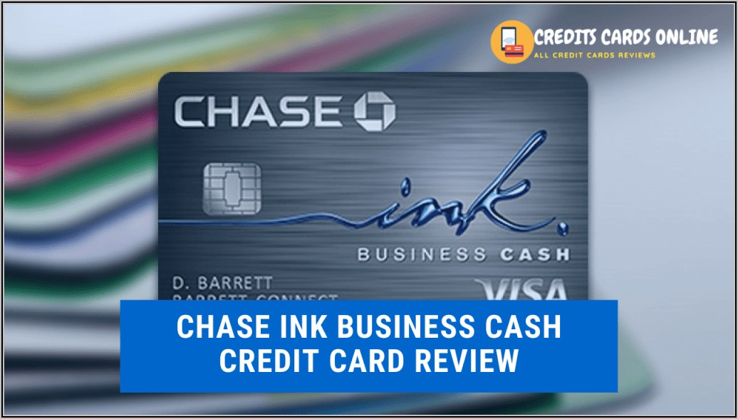Chase Ink Business Card Review