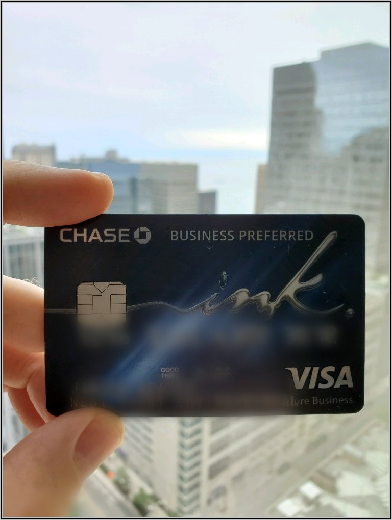 Chase Ink Business Card Rewards