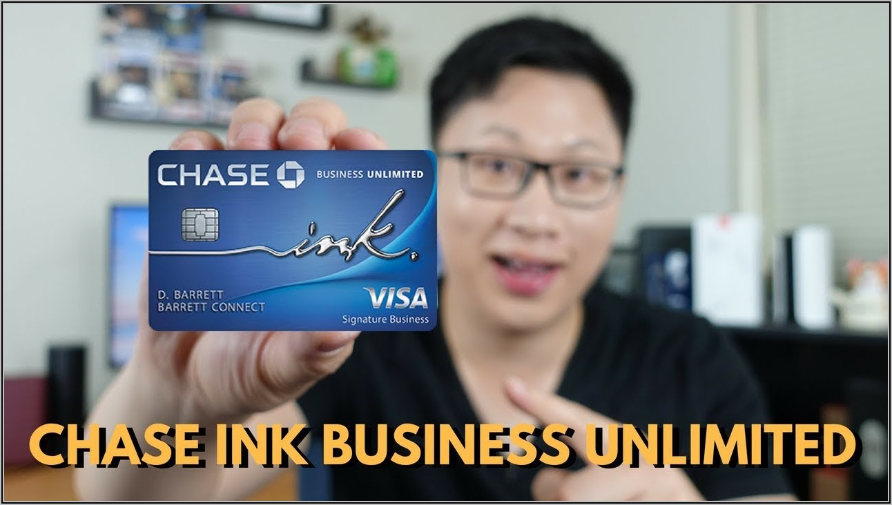 Chase Ink Business Card