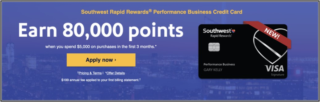 Chase Southwest Performance Business Card Benefits