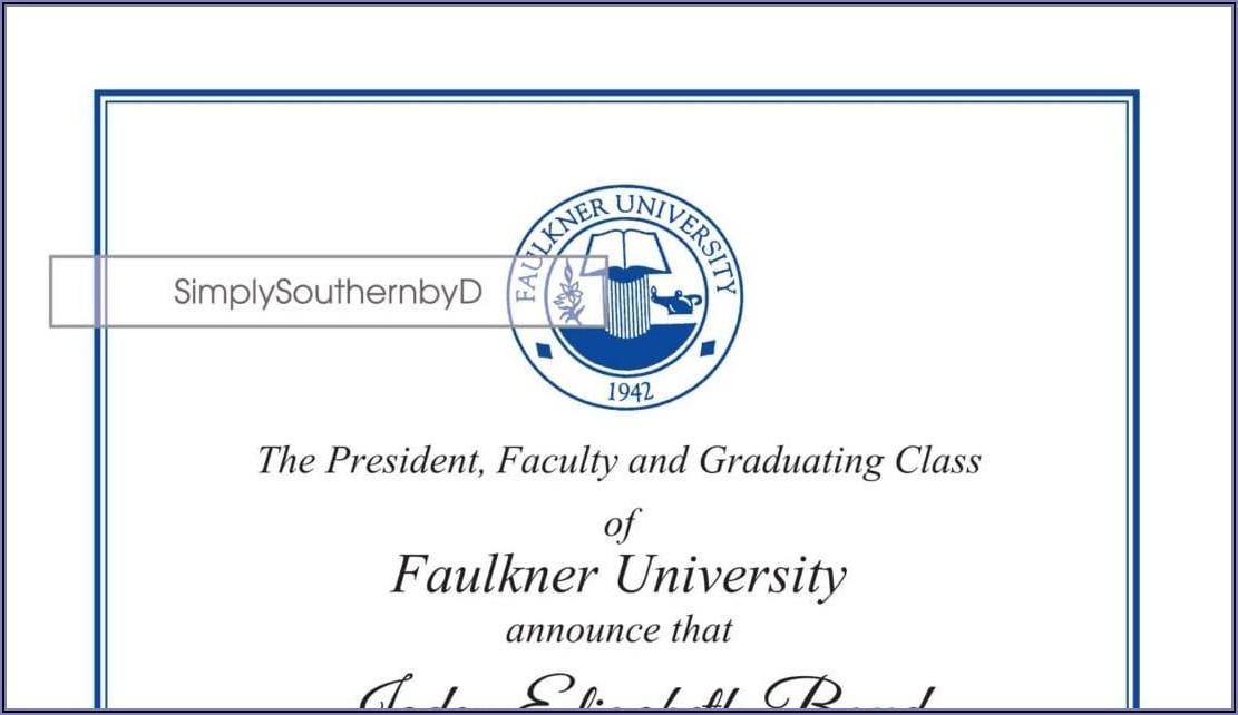 College Graduation Commencement Invitation Wording