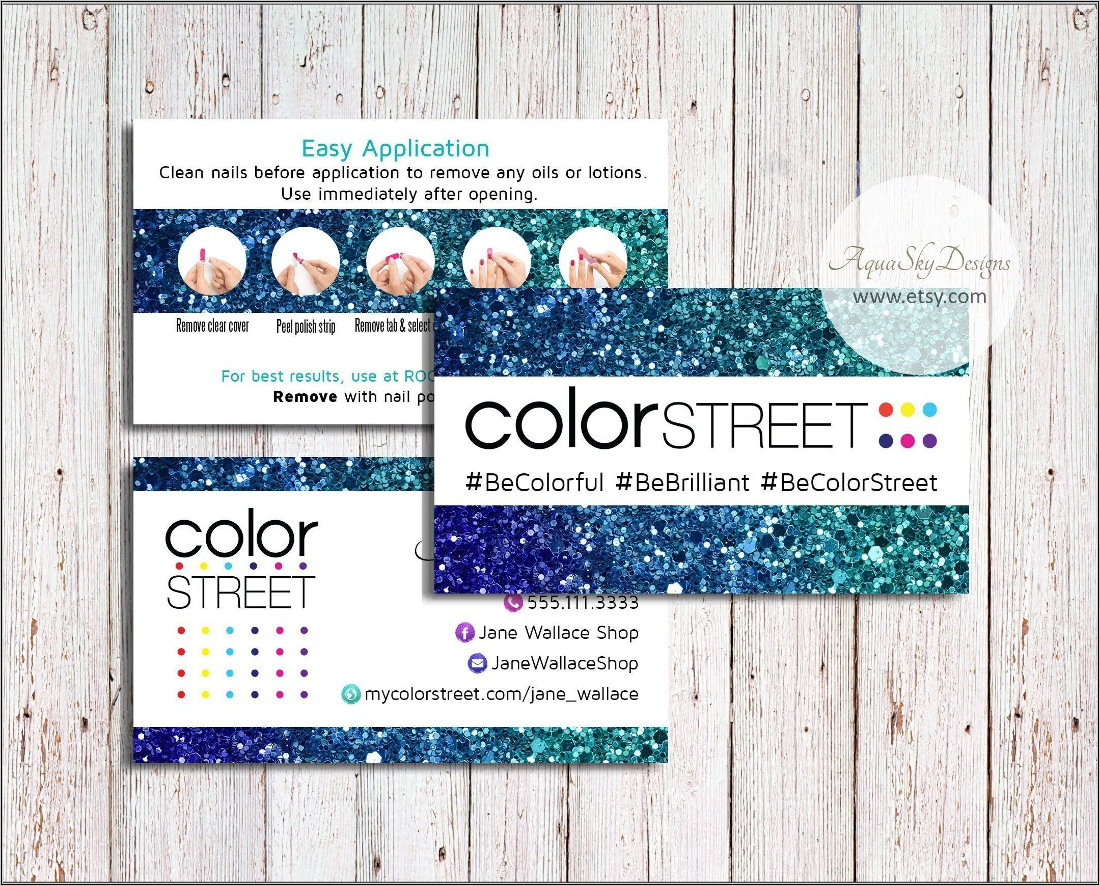 Color Street Business Cards