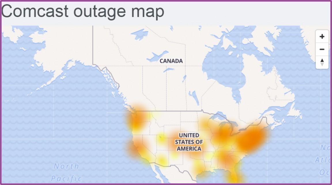Comcast Internet Outage Map Connecticut