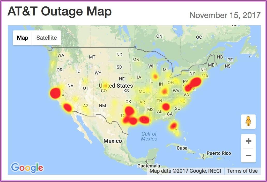 Comcast Internet Outage Map Memphis