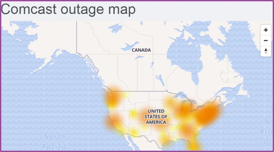 Comcast Internet Outage Map Michigan