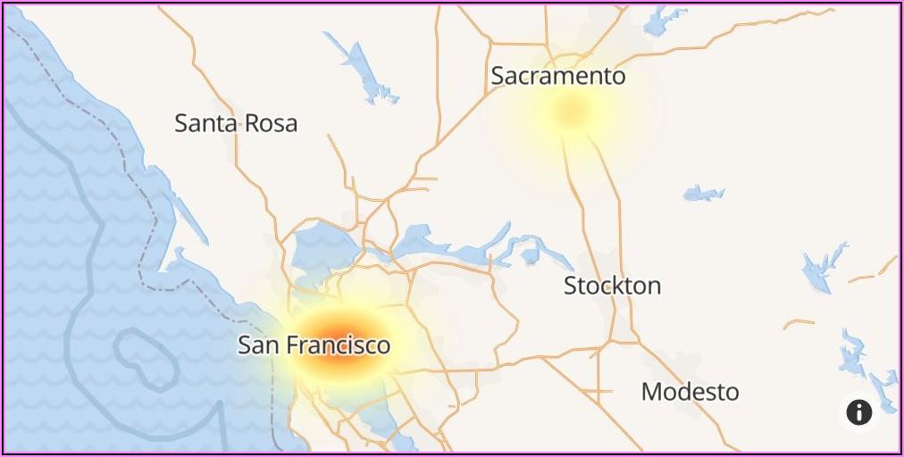 Comcast Internet Outage Map Sacramento