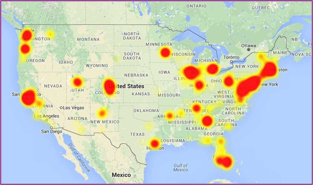 Comcast Outage Map Mi