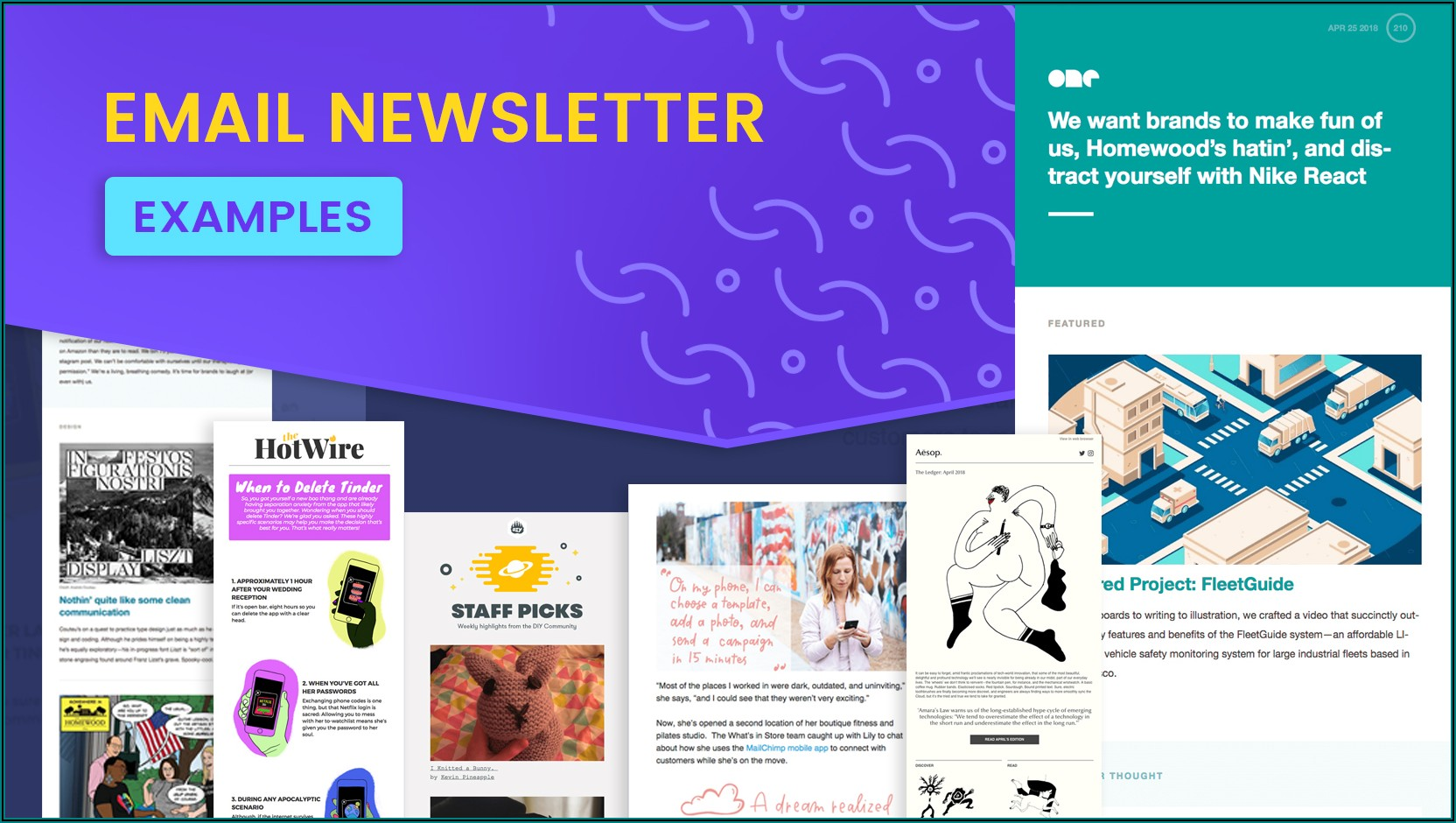 Company Monthly Newsletter Examples
