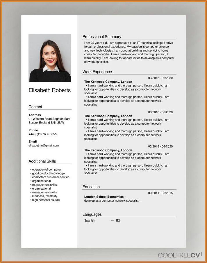 Completely Free Resume Creator