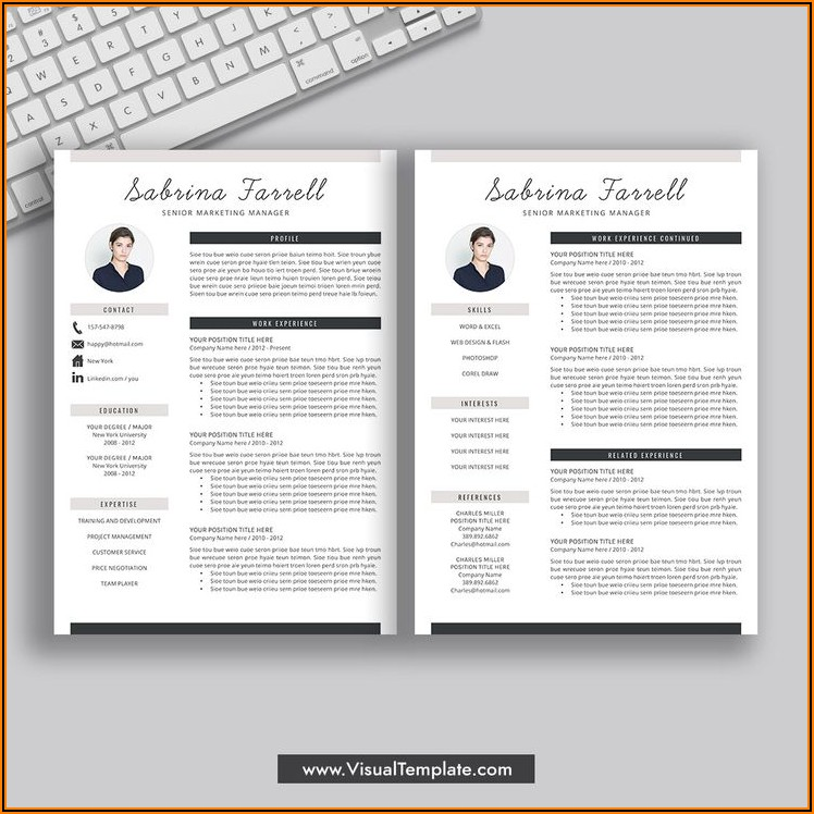 Creative Cv Template Word Free Download 2020