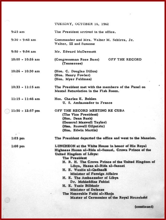 Cuban Missile Crisis Timeline Worksheet