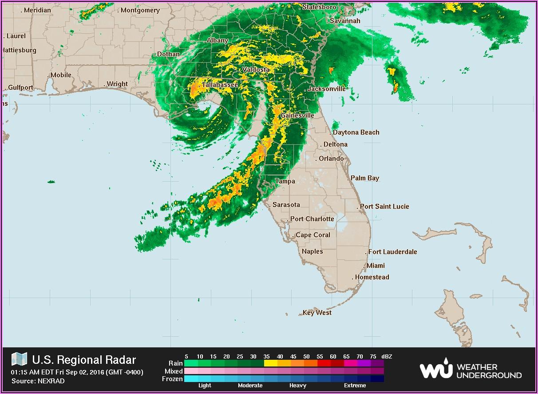 Current Local Weather Radar Map
