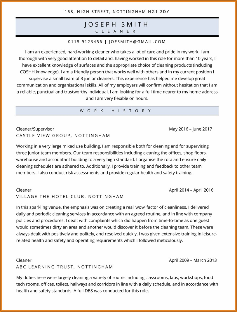 Cv Template For Microsoft Word Free Download