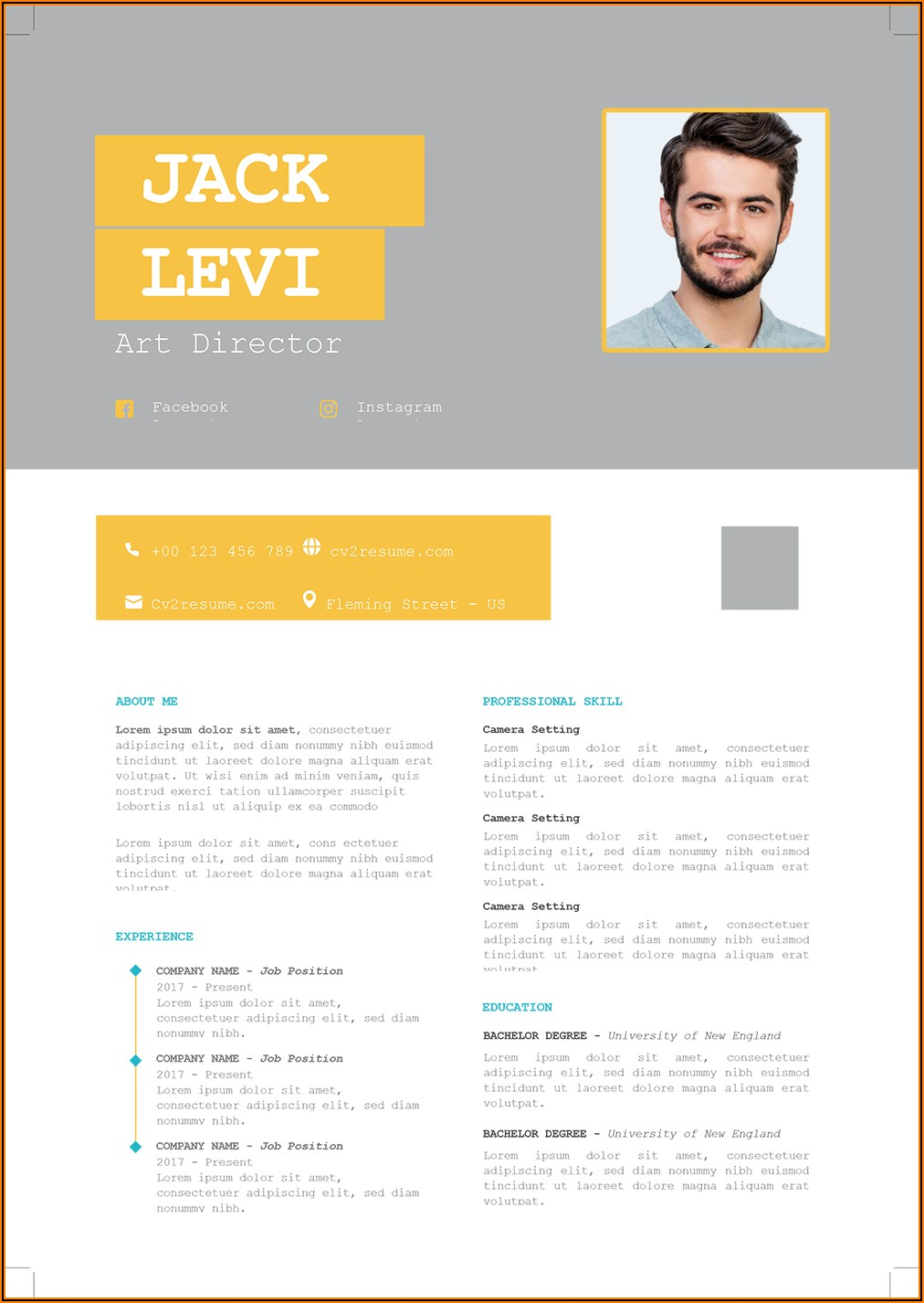 Cv Templates For Microsoft Word Download