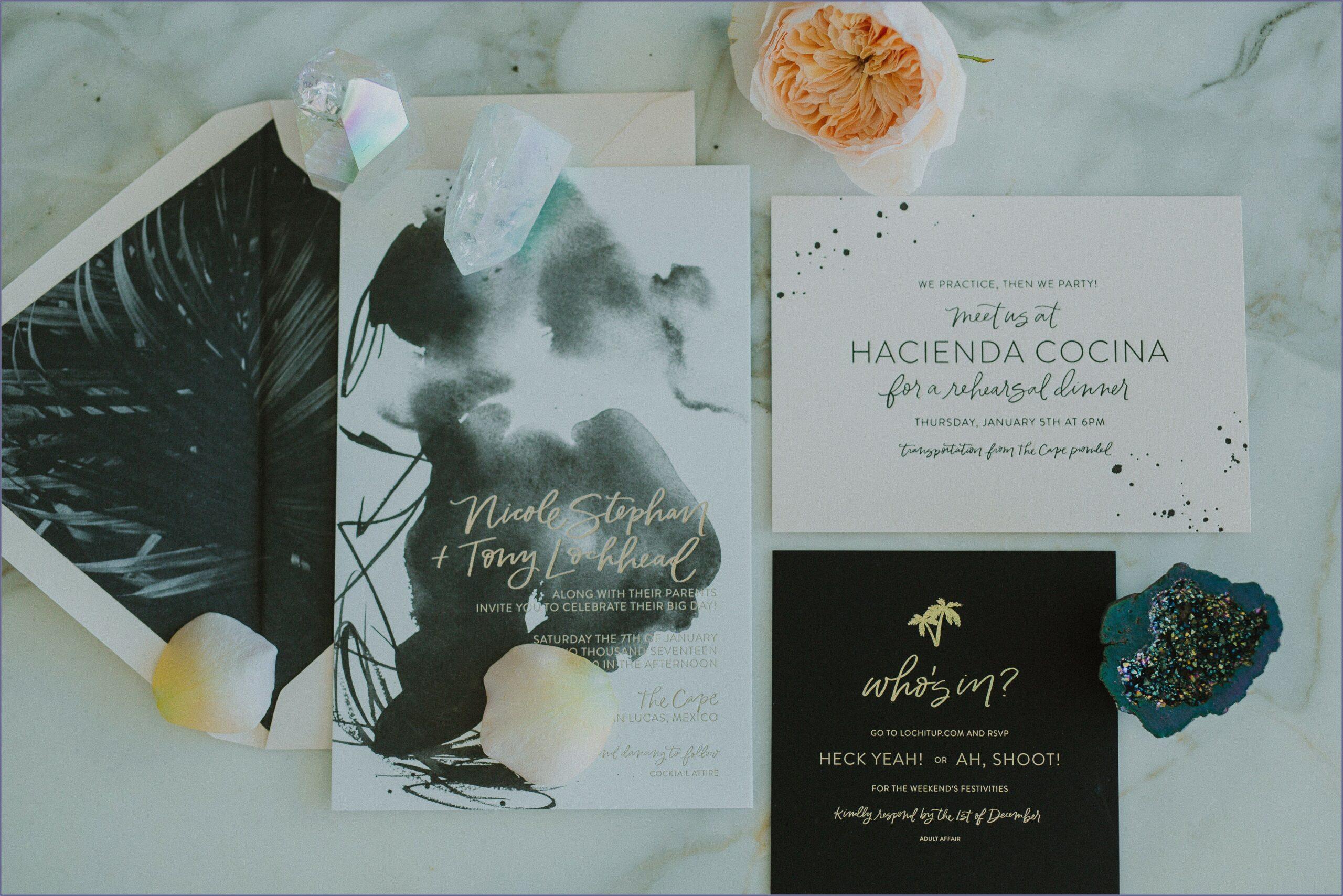 Destination Wedding Shower Invitation Wording