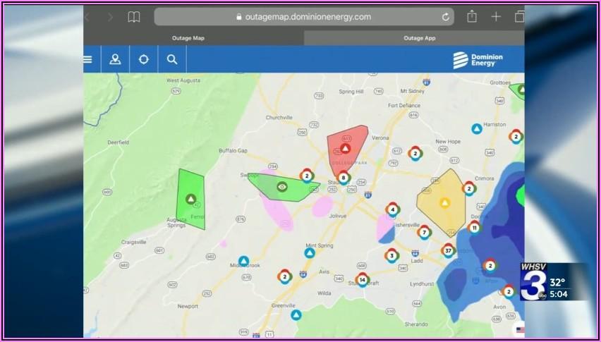 Dominion Power Outage Map Fairfax Va