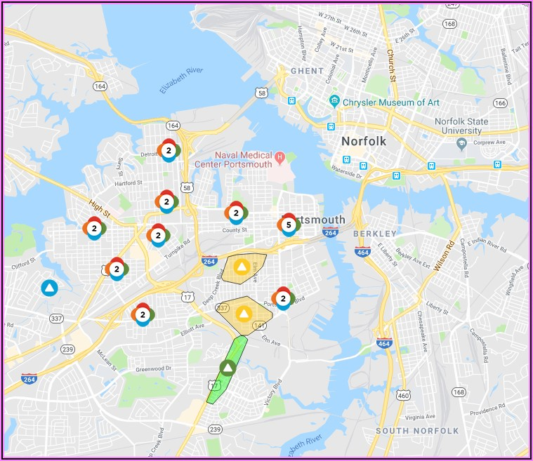 Dominion Power Outage Map Suffolk Va