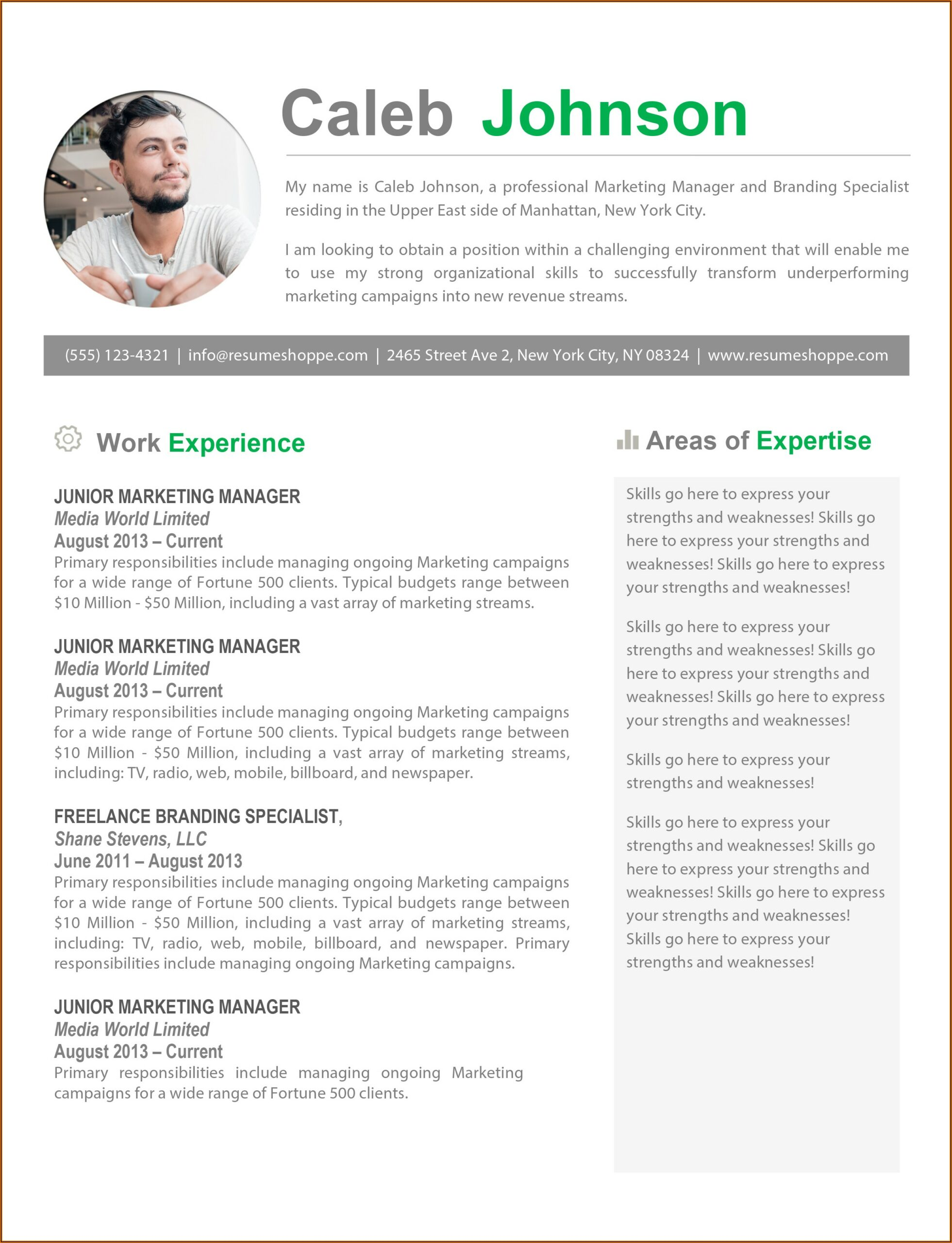Download Resume Templates For Mac Pages