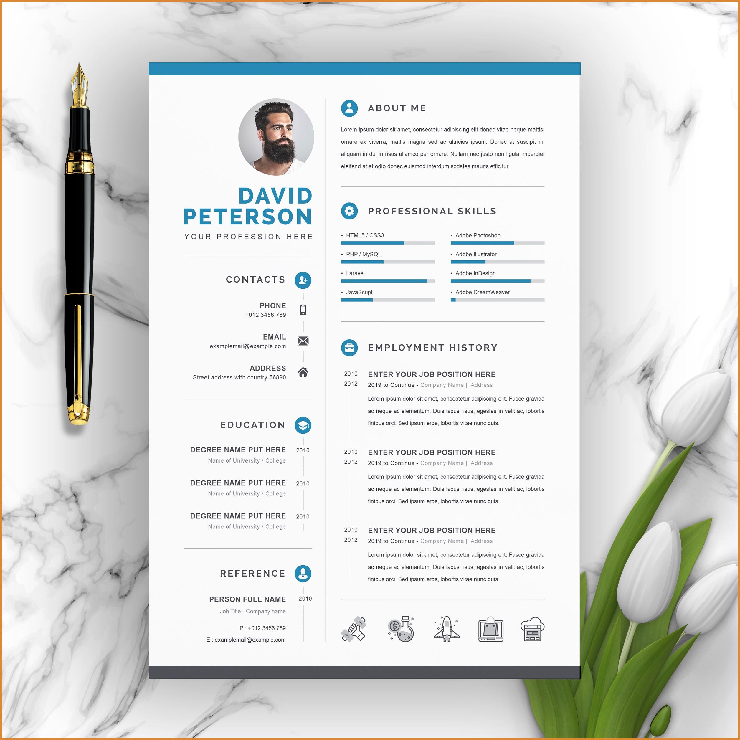 Download Template Cv Microsoft Word 2010