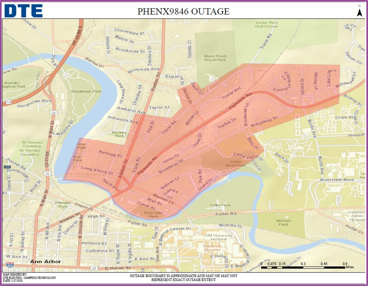 Dte Outage Map 48197