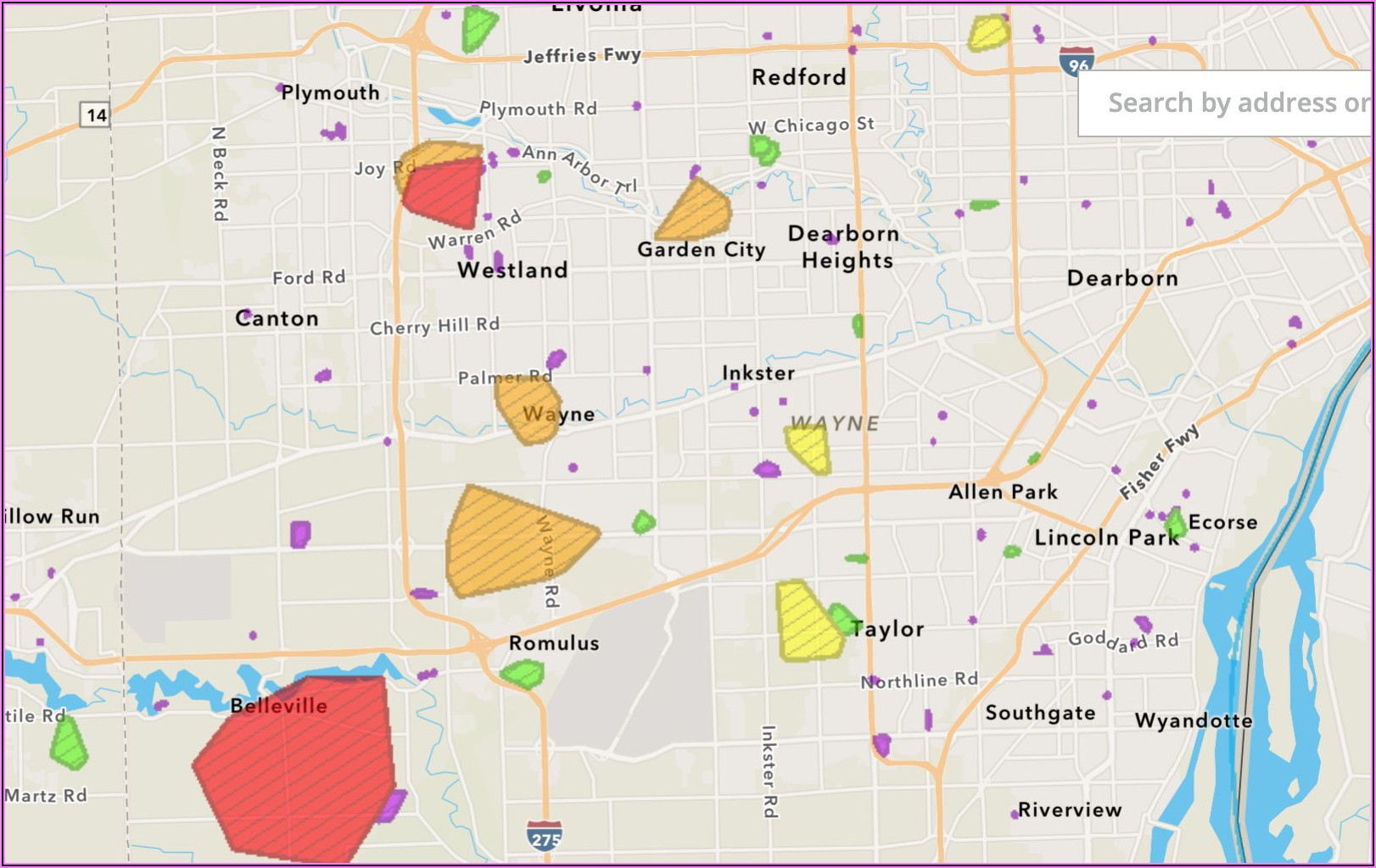 Dte Outage Map By Address