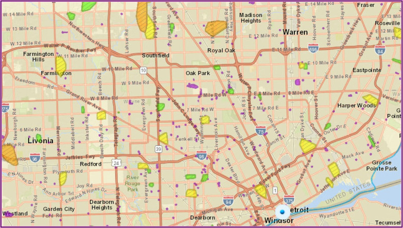 Dte Outage Map Warren Mi