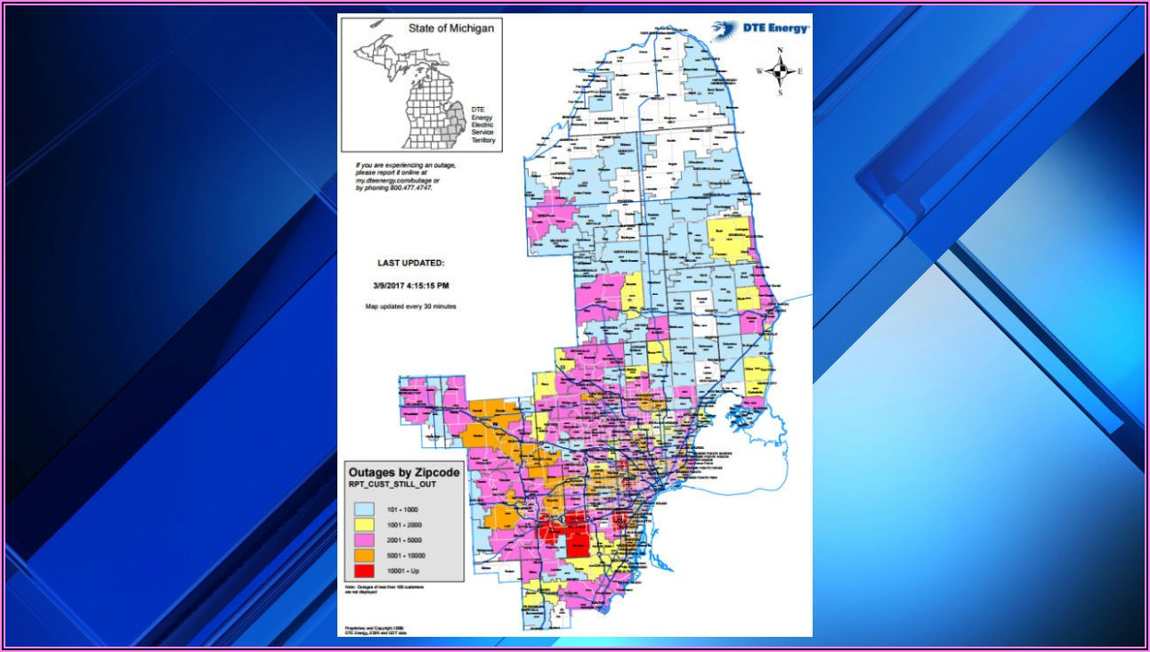 Dte Power Outage Map Estimate Time