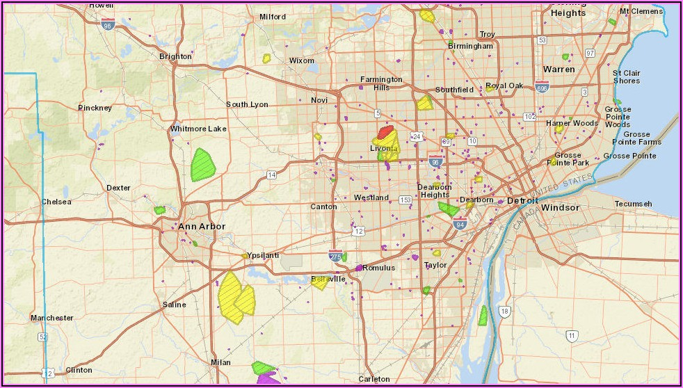 Dte Power Outage Map Report