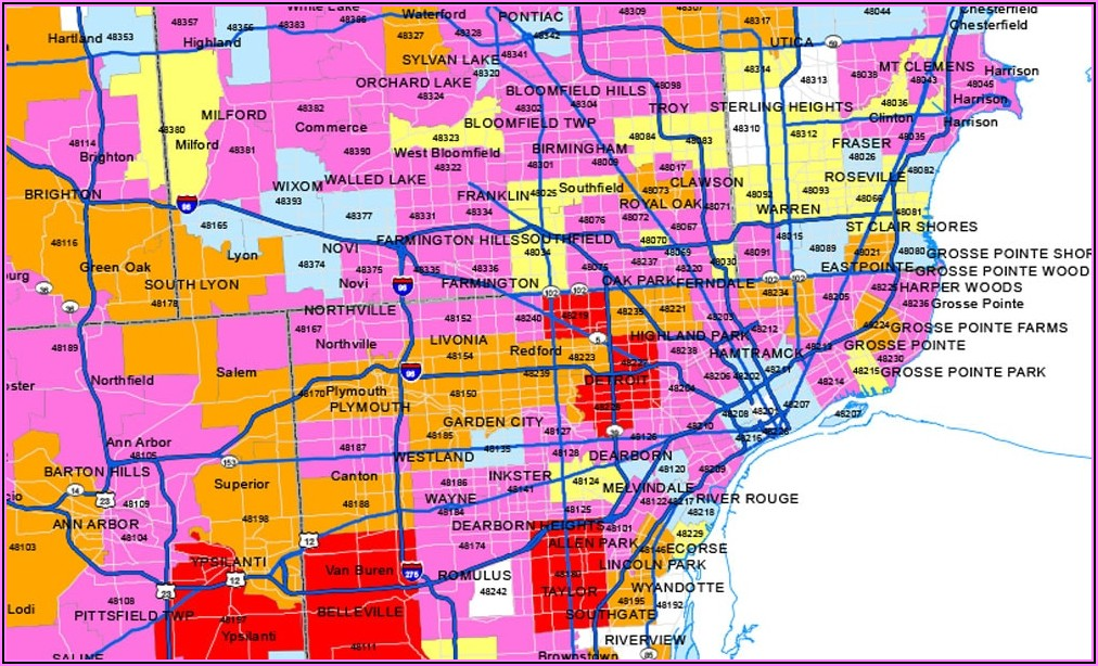 Dte Power Outage Map
