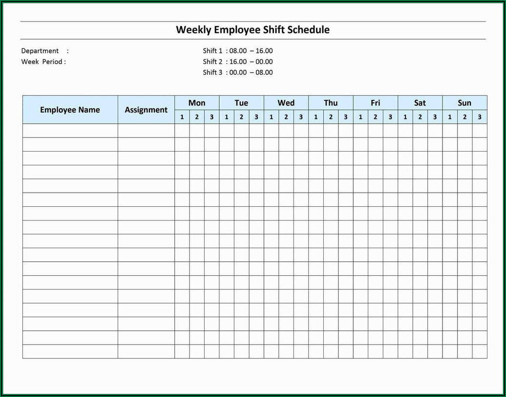 Employee Annual Review Template Pdf