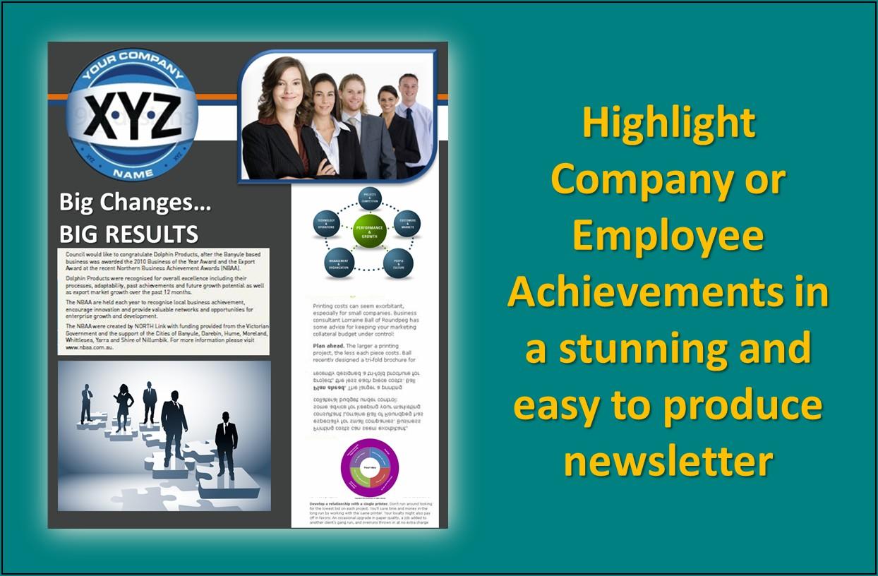 Employee Newsletter Names Ideas