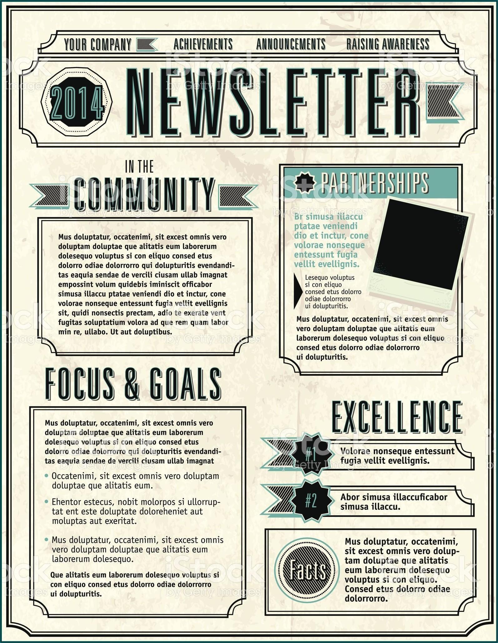 Employee Newsletter Templates Free