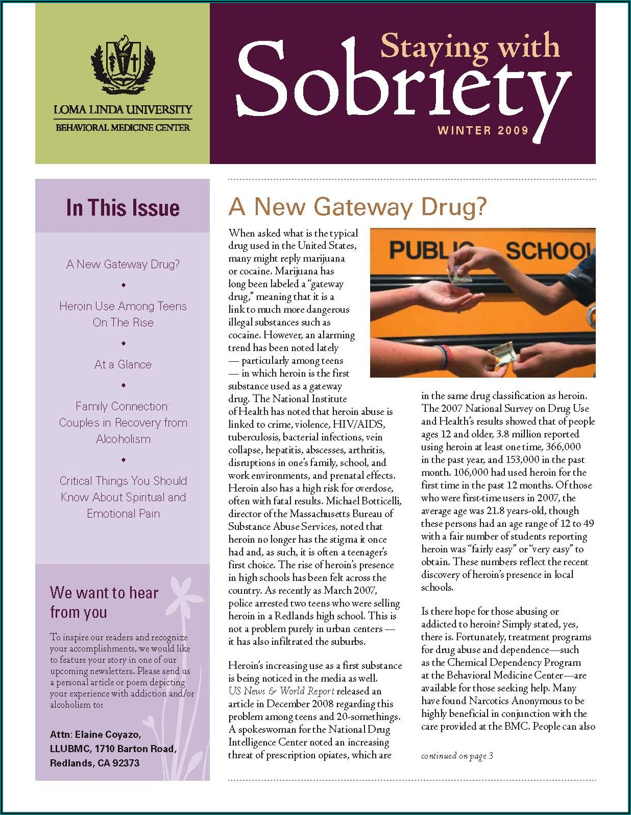 Examples Of Company Newsletter Articles
