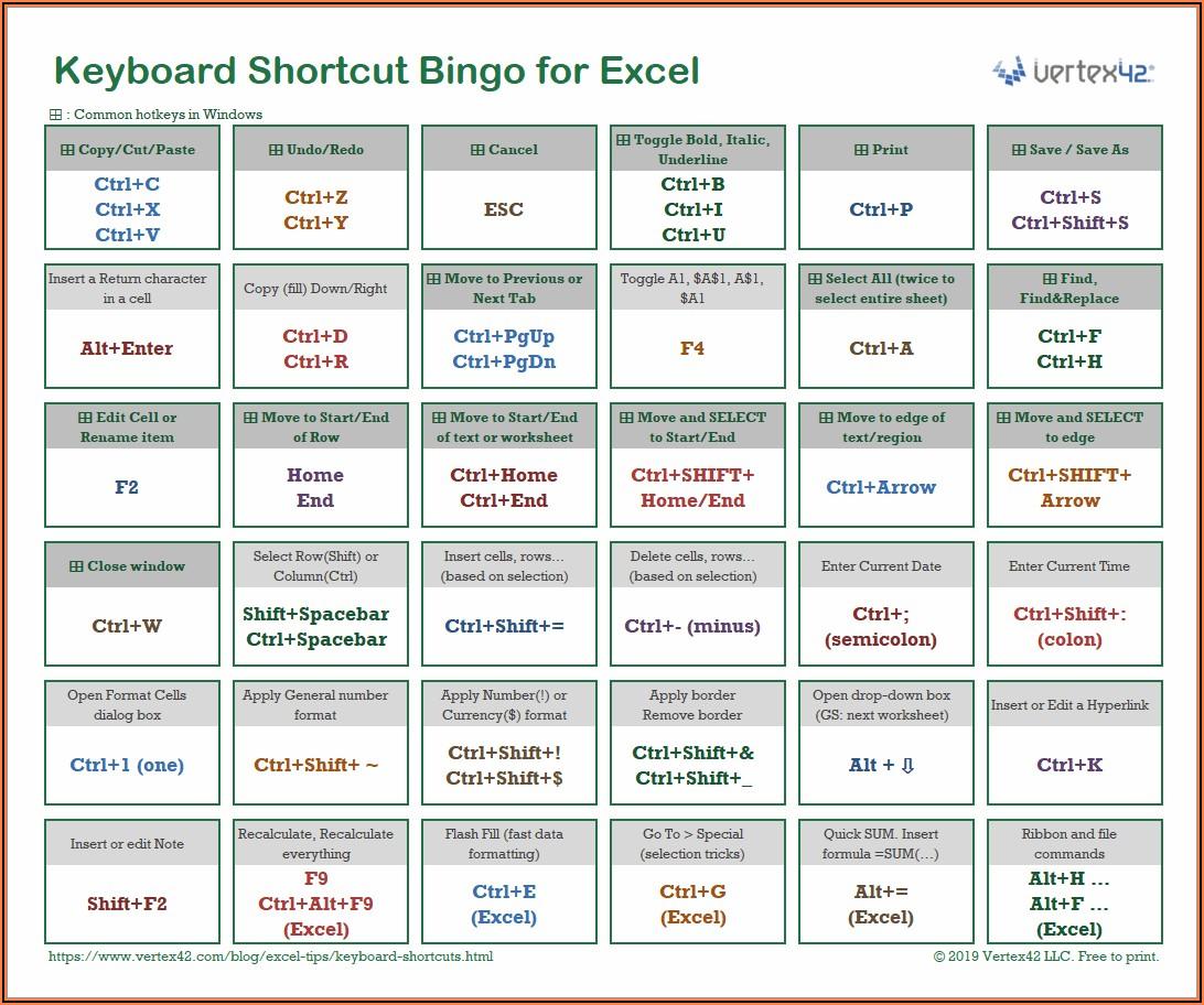 Excel Copy Worksheet Shortcut Key